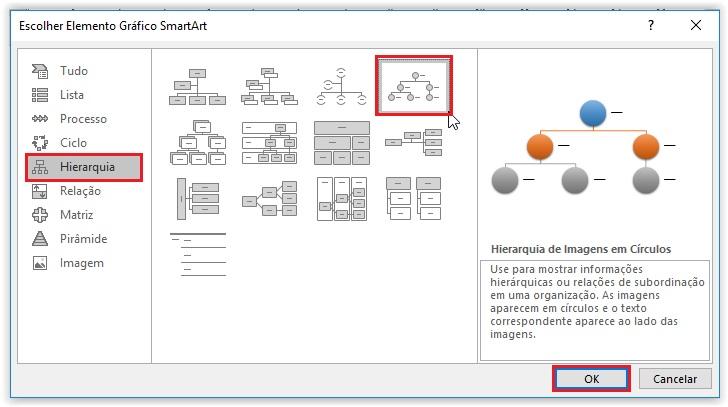 Como criar um organograma no Word - Passo 2