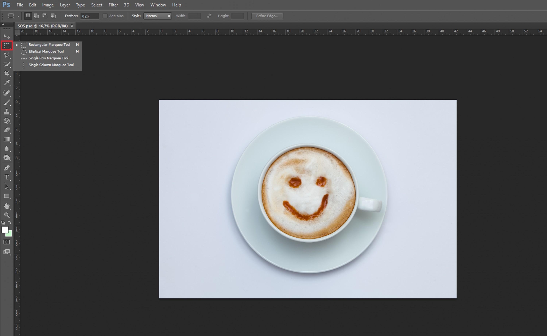 ¿Cómo recortar imagen en Photoshop?