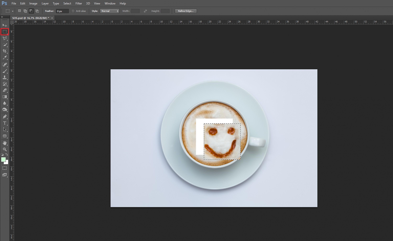 Cómo recortar imagen en Photoshop