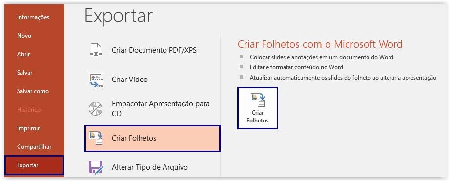como converter um arquivo powerpoint em pdf