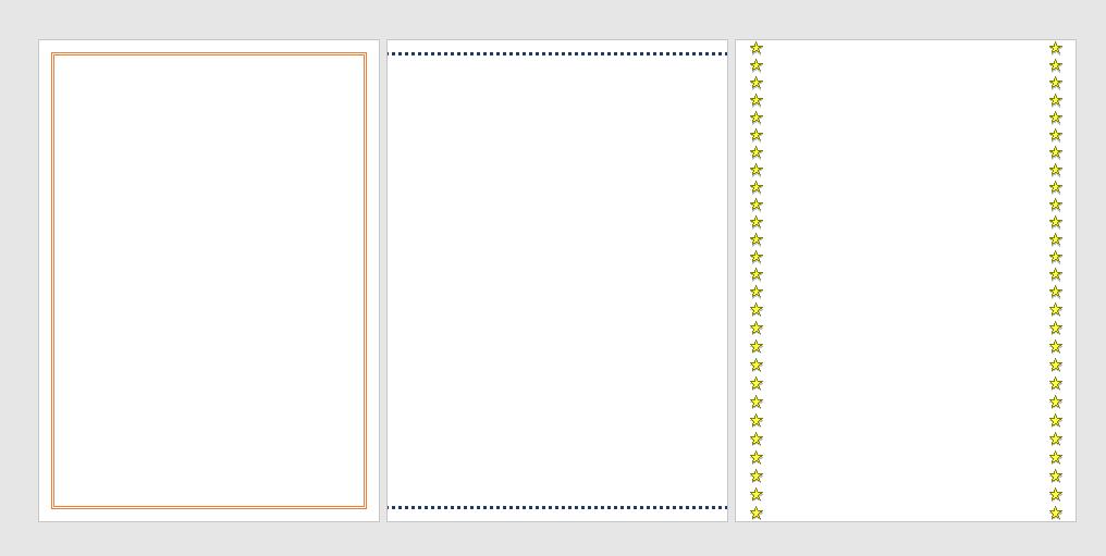 Como colocar bordas no Word - Passo 7